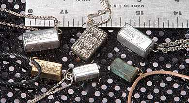 Athens Block Necklaces